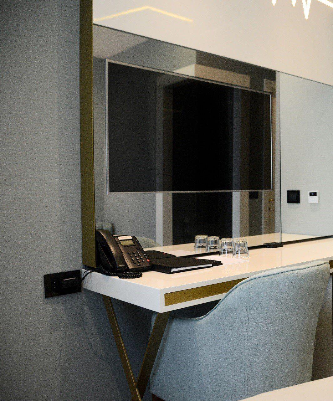 Jednokrevetna soba u Hotelu Pupin u Novom Sadu